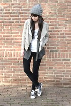 Best Behavior jacket - River Island jeans - IRO cardigan - Converse sneakers