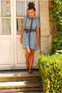 Blue-mintmelon-dress-blue-coolway-shoes