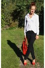 Red-h-m-bag-red-new-look-pumps-black-pants-white-mango-blouse