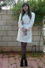 White-fillya-boutique-dress-black-topshop-shoes