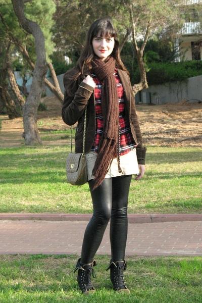 Red Ebay Shirts Ebay Leggings Black Ebay Boots Beige