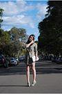 Green-zara-dress-gray-forever-21-boots-white-urban-originals-purse