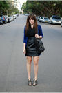 Blue-country-road-cardigan-black-seduce-dress-gray-forever-21-shoes-black-