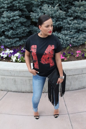 H&M jeans - H&M bag - GoJane heels