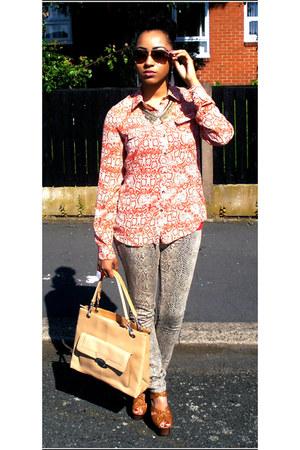 select jeans - Miss Selfridge heels