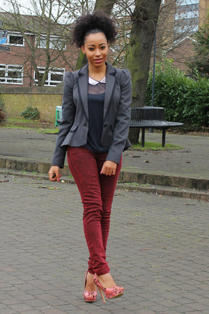 Dorothy Perkins jacket - new look jeans - Primark top