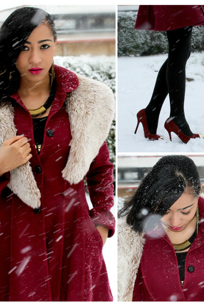 Topshop coat - Matalan shoes