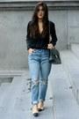 505c-slim-levis-jeans-vintage-jumbo-chanel-bag-relax-fit-acne-blouse