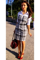 Zara dress - Vero Moda shirt - LM collection shoes - Global accessories accessor