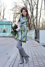 Heather-gray-charles-keith-boots-heather-gray-floral-dress-desire-dress