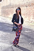 black celyn b blazer - black 31 Phillip Lim bag - amethyst asos pants