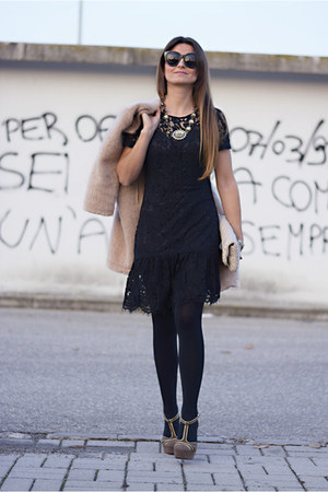 black OASAP dress - neutral Miu Miu bag