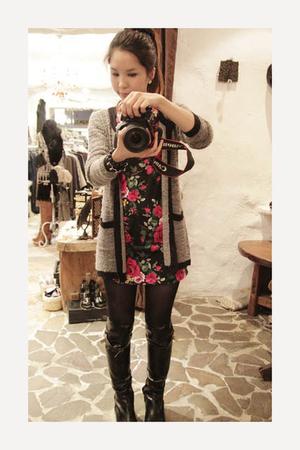 korea dress - korea jacket
