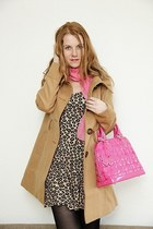 Domi bag - New Yorker dress - Tally Weijl coat - Orsay scarf