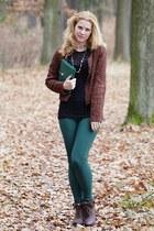 New Yorker blazer - CCC shoes - F&F pants - polka dots lindex top