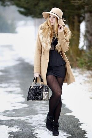 PERSUNMALL bag - OASAP dress - Tally Weijl coat