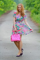 Domi bag - New Yorker shoes - OASAP dress - F&F bracelet