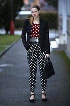 Forever 21 blazer - Forever 21 blazer - Mango bag - New Yorker pants