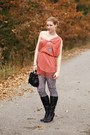 Humanic-boots-lulus-dress-new-yorker-leggings-lindex-bag