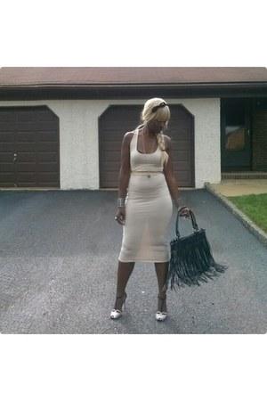 cage bracelets Luepp It bracelet - Madden Girl shoes - Gregariana dress