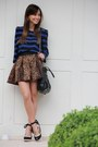 Black-prada-bag-black-schutz-wedges-brown-zara-skirt-navy-zara-blouse