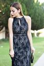 Black-lace-lulus-dress