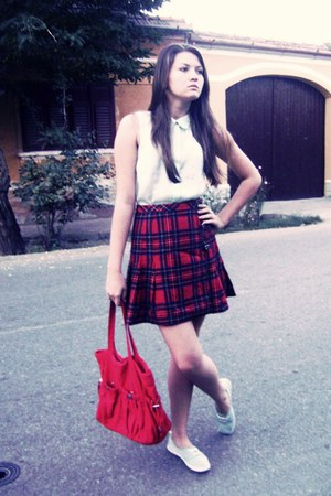 H&amp;M shoes - H&amp;M bag - H&amp;M blouse