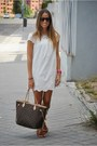 Zara-dress-louis-vuitton-bag