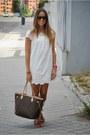 Zara-dress-louis-vuitton-bag