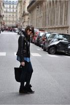 black Mango jacket - black Marc by Marc Jacobs bag