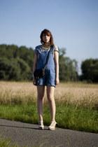 Chloe wedges - Chloe bag - MIH Jeans shorts
