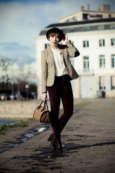 Zara jacket - Chloe shoes - Levis jeans - Zara shirt - See by Chloe bag