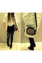 LULUCHERIE bag - tassel cardigan Topshop cardigan