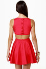 Red LuLus Dresses