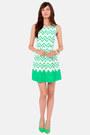 Green LuLus Dresses