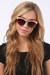 coral LuLus sunglasses