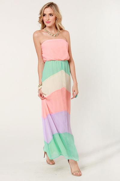 light pink LuLus dress