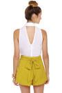 Mustard LuLus Shorts