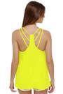 Yellow Lu Lus Tops