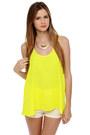 Yellow LuLus Tops