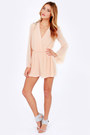 Light Pink LuLus Rompers