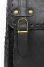 Black Vegan Leather LuLus Purses