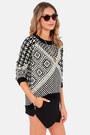 Black LuLus Sweaters
