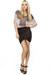 LuLus top - twist detail LuLus skirt - platform LuLus heels