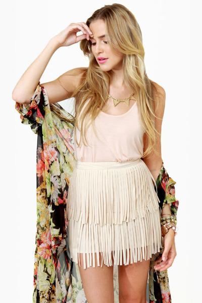 cream LuLus skirt