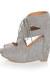 heather gray LuLus heels