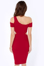 Ruby Red LuLus Dresses