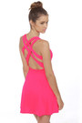 Hot-pink-lulus-dress