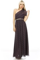 navy maxi LuLus dress