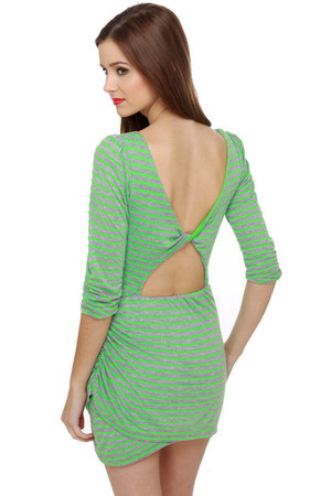 lime green LuLus dress
